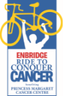 enbrdige ride to conquer cancer logo
