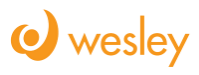 Wesley urban center logo