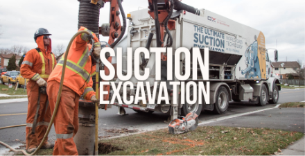 suction excavation truck