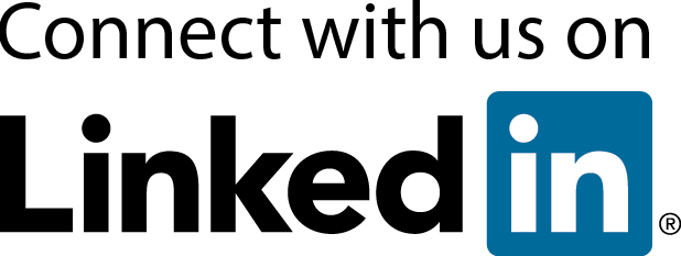 connect with us on LinkedIn logo
