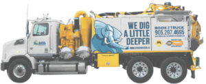 Hydrovac Truck - We dig a little deeper